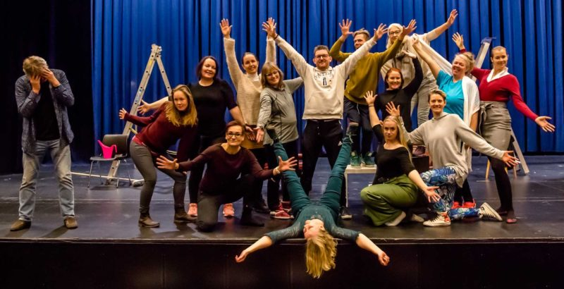 Fra forestillinge Haunte the Musical-Foto Bonsak-Hammeraas