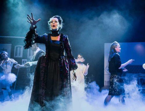 Skummelt bra da musikalen «Haunted» ble juleforestilling